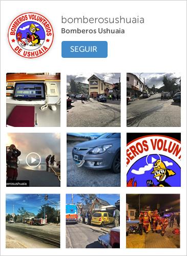 Instagram Bomberos Ushuaia