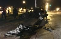 22-11-16 00:51 hs. violento accidente vehicular en Av. Jorge Garramuño casi Piedrabuena