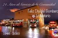 134° ANIVERSARIO DEL DIA DEL BOMBERO VOLUNTARIO Y 74° ANIVERSARIO DE NUESTRA INSTITUCIÓN