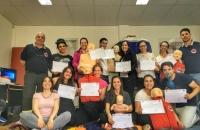 Curso de RCP y uso del DEA en el Centro de Rehabilitación Ushuaia