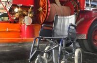Donación de una silla de ruedas