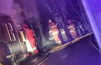 Incendio de una vivienda en Aldo Motter y Santiago del Estero