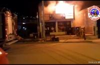 Incendio en vivienda de calle Yowen 2000