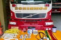 Incorporamos nuevos elementos de seguridad para los bomberos de nuestra Institución.