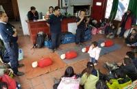 Jornada de RCP y Primeros Auxilios para la unidad Scout del Distrito 1