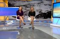 """Programa de la cadena Univision Aquí y Ahora """"Donde Nadie Va"""