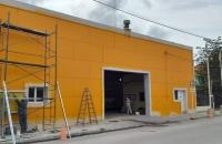 Remodelación y embellecimiento  fachada del Destacamento Nº1  José Soto de la calle Kuanip