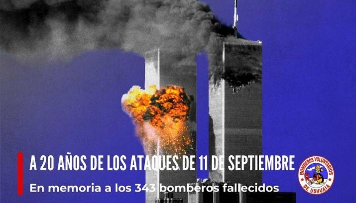 11-S A 20 AÑOS DE LOS ATAQUES TERRORISTAS A LAS TORRES GEMELAS.