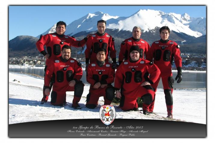 1º Grupo de Buzos año 2007