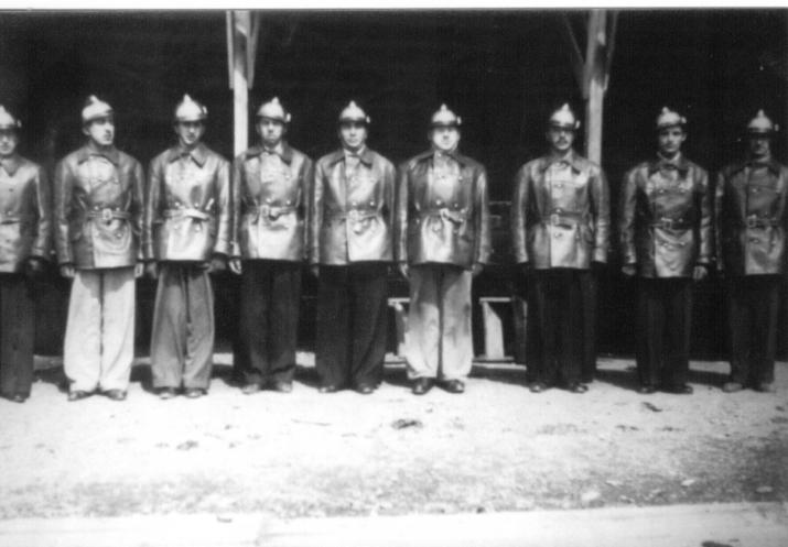 Bomberos año 1950