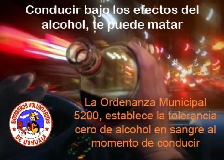 La conducción bajo los efectos del alcohol, te puede matar