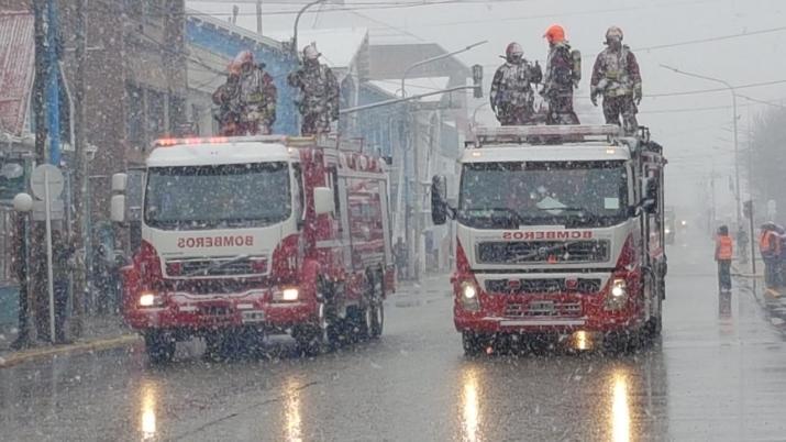 Desfile cívico militar Aniversario de Ushuaia 2019