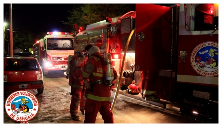 Foto Incendio Calle Tekenika