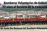 """72º Aniversario de la creación de nuestra Institución y """"Día Nacional de Bombero Voluntarios"""""""