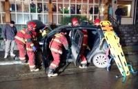 21/6/16  21:36 Acciddente Vehicular Fadul y Magallanes