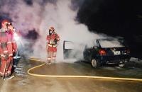 17/8/16   21:04 hs. Incendio de Vehículo en Presidente Raul R. Alfonsin (Ruta Nac 3)