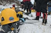 Se participo de un curso de avalanchas y técnica de traslado en zonas agrestes