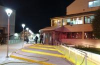 Principio de incendio en Polideportivo Augusto Lasserre