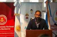 Proyecto ACERCAR del Consejo Nacional de Bomberos llego a Tierra del Fuego