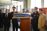 Se recibe un cuadro del Vicegobernador, Dn. Juan Carlos ARCANDO